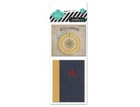 No Limit Openables By Heidi Swapp      Includes 2 pieces: one 3x4 inch mini book and one 3x3.25 foldable map. Map folds to 3x3.25 inch.: Minis Books, Mini Books