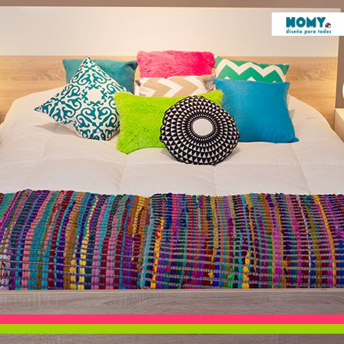 #Colores y #texturas para el #dormitorio