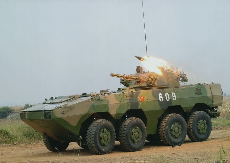 ZBL-09 Wheeled Infantry Fighting Vehicle