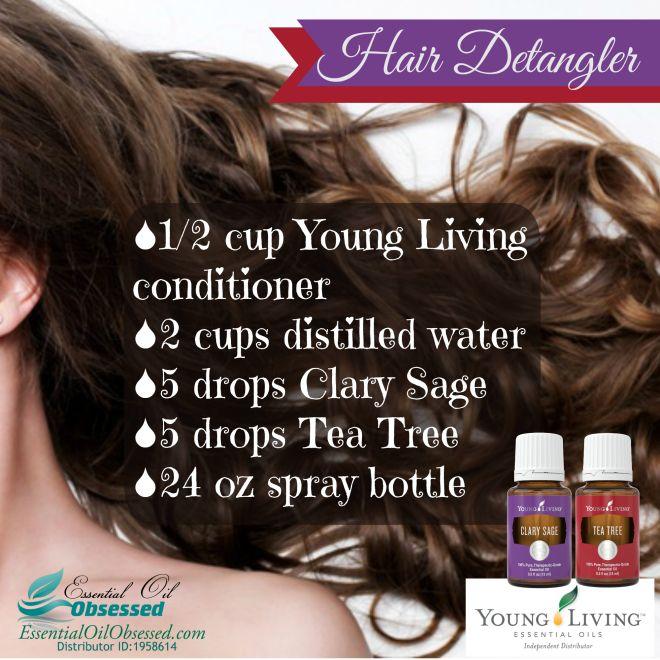 how to use hair detangler