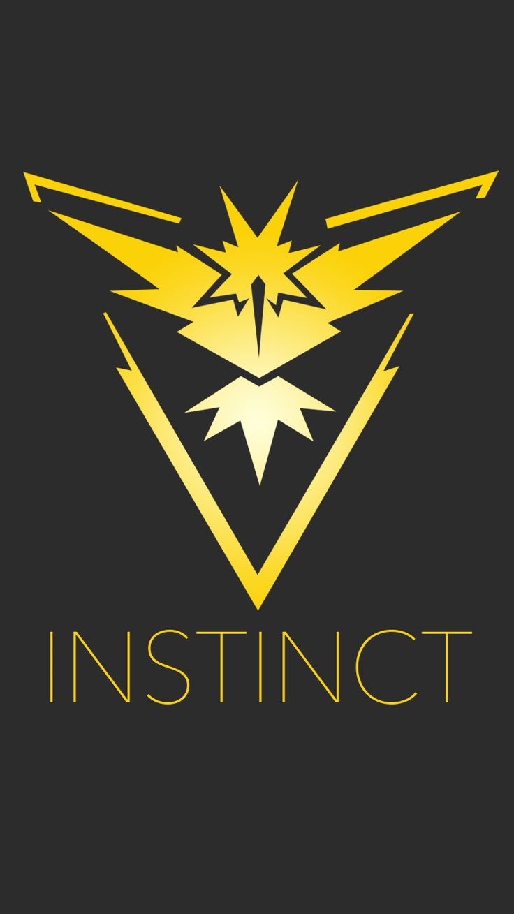 I think I may be the only one in my town who chose Team Instinct in Pokemon GO! Team Valor has taken over around here :-(