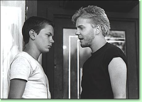 River Phoenix & Kiefer in Stand By Me