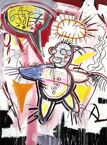 "Jean-Michel Basquiat: ""Donut Revenge"""