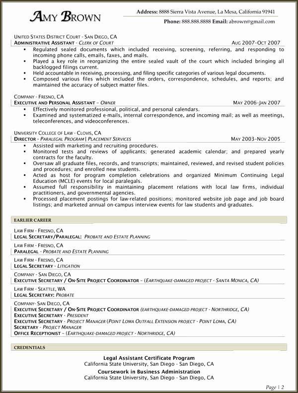 25 entry level paralegal resume in 2020  job resume