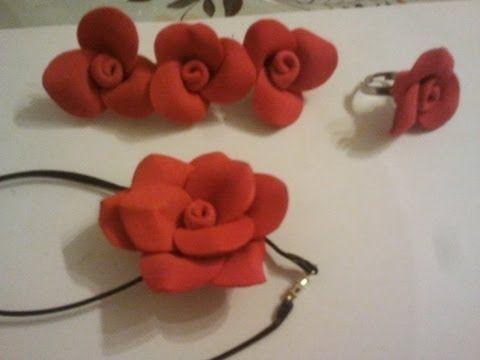 DIY: COMO HACER ROSA EN GOMA EVA (FOAMI) MUY FACIL