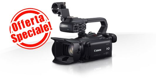 "Extra sconto di € 150,00 su Canon XA25 & Kit - Full HD - Zoom ottico 20x - Inserendo il codice ""XA25"" nel carrello - Ultimi 4 pezzi! Info: https://www.adcom.it/it/search/q_n_30?searchstring=xa25&marche=&sito=1&but-search=Cerca"