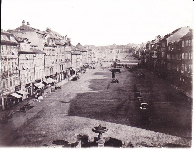 Václavské náměstí v roce 1870