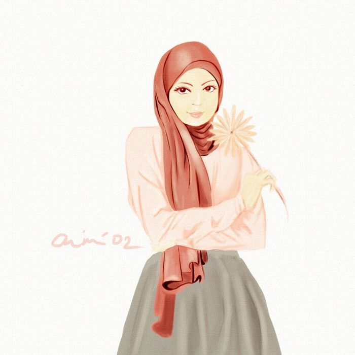 Hijab by Mai-toushiro@Deviantart