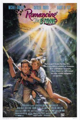 Romancing the Stone (1984) movie #poster, #tshirt, #mousepad, #movieposters2