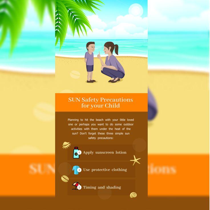 SunSafetyPrecautionsforyourChild    #sunsafetyprecautions www.krayolakidz.com