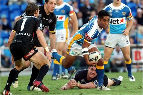 Billy Ngawini NRL Round 26 2008