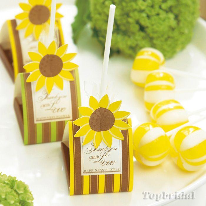 ひまわりCANDY (フルーツキャンディ) 【56-1266】≪37%OFF≫ | プチギフトのキャンディー