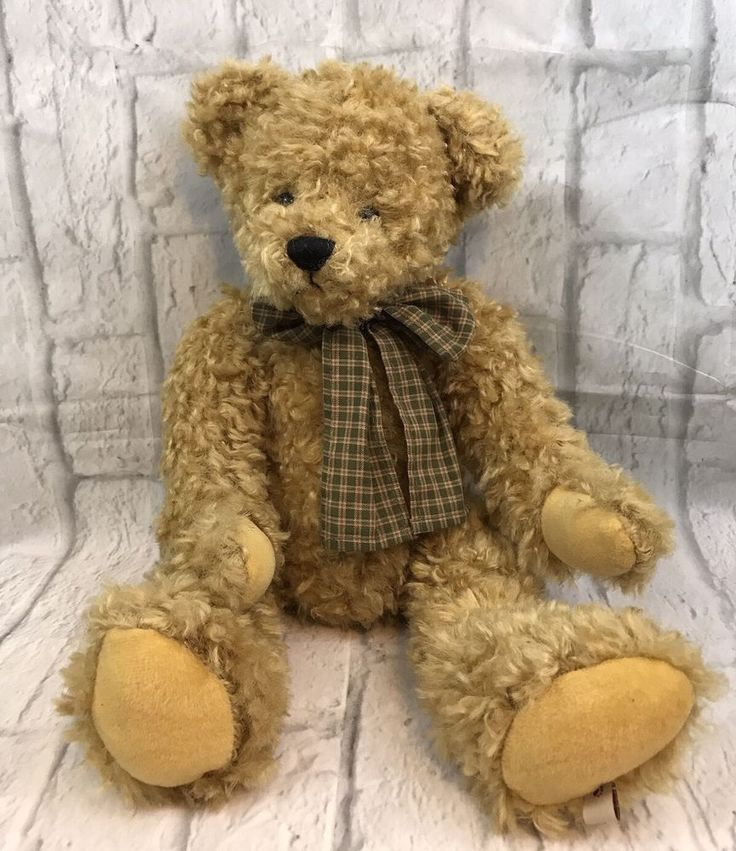 The Boyds Collection Bruce 18 Quot Jointed Plush Teddy Bear