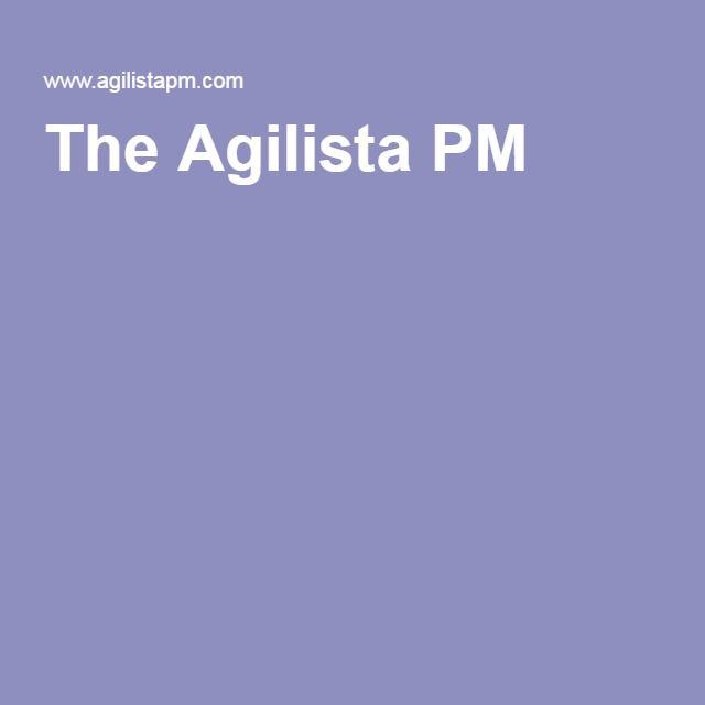 The Agilista PM