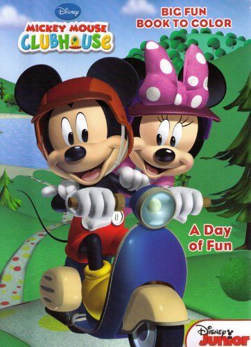 Mickey Mouse Clubhouse Big Fun Book To Color 2 Coloring Set By Dalmatian