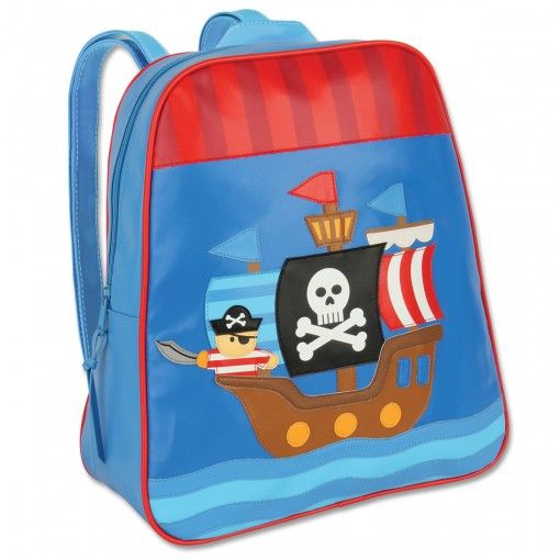 Pirate Go Go Backpack Possum Pie Stephen Joseph Arts and Crafts, Gifts and Toys, Bags and Backpacks