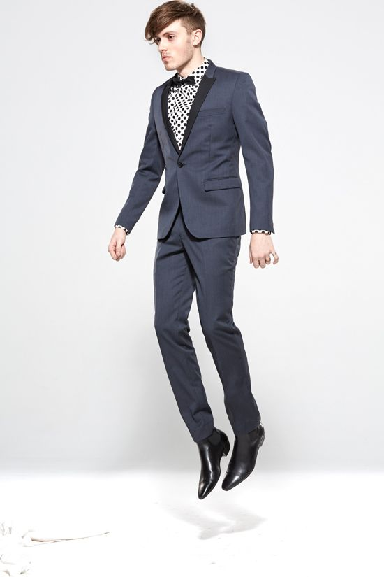 Jack London SS13/14 Collection Groom Suit // Glamorous Urban Boho Luxe Art Deco Gold Wedding Ideas and Inspiration