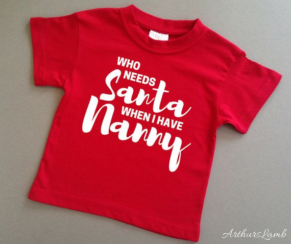 Nanny christmas gifts 25 pinterest christmas t shirtnanny giftnannynannagrandparent giftchristmas gifts negle Images