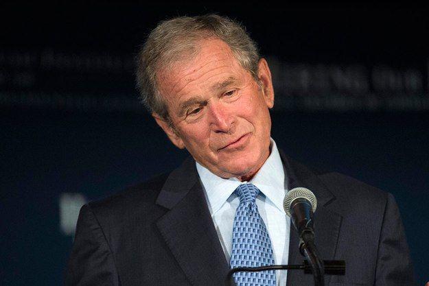 George W Bush, amerikansk president 2001–2009.