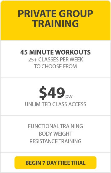 At MTC you will find the best Personal Training Class Rates.