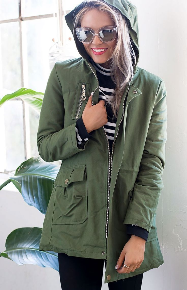 Ripley Coat Khaki | Beginning Boutique