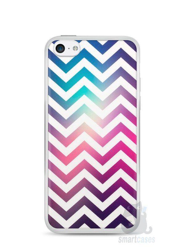 Capa Iphone 5C Ondas #3 - SmartCases - Acessórios para celulares e tablets :)