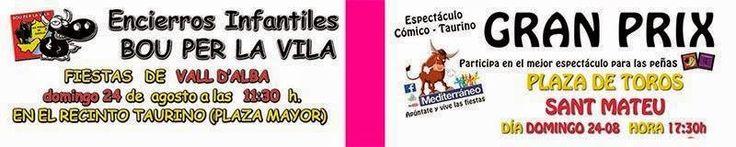 torodigital: Encierro infantil en Vall d'Alba, y por la tarde ...
