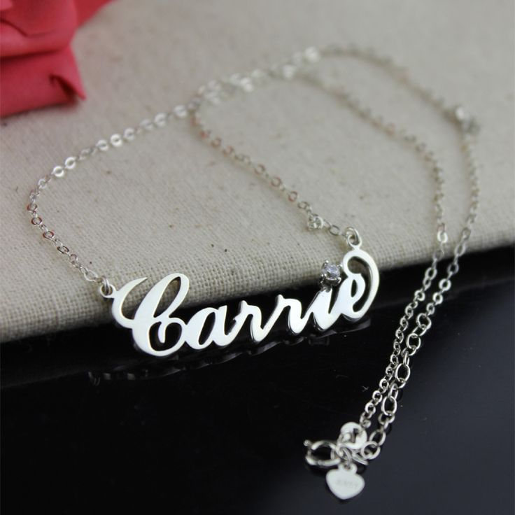 Carrie Jewelry with one Diamond best gift for women