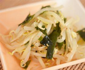 もやしとわかめのナムル風和え 副菜(小) 約5分