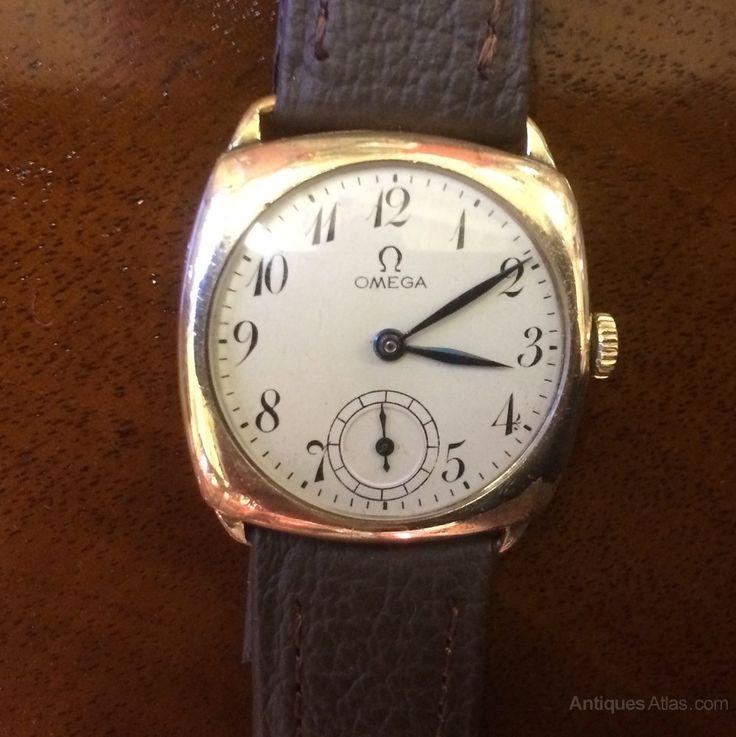 Antiques Atlas - 1935 Omega Cushion Watch
