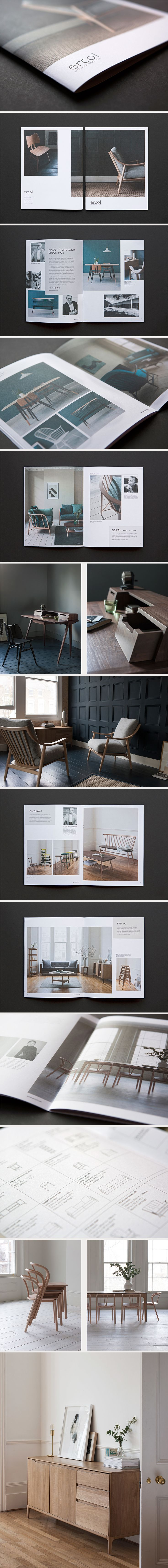 #ercol furniture brochure by reef design #photography #design #interiors #artdirection @ercol