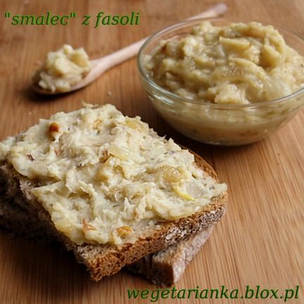 Pasta z fasoli - niby smalec :)