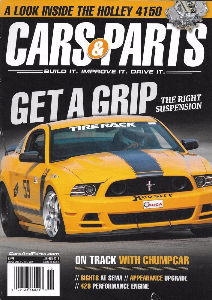 Cars and Parts magazine The right suspension Holley Performance engine Upgrade