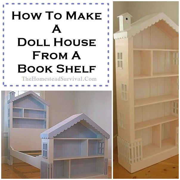 bookshelf doll house and dollhouse bed head and foot boards