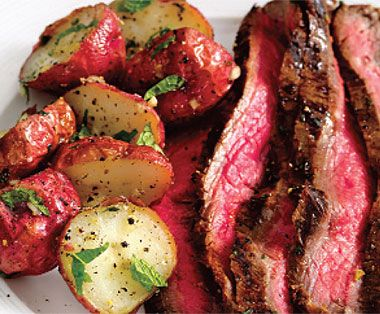 how to cook a flank steak in a convection oven