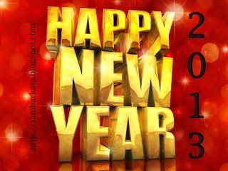 Kata Ucapan Tahun Baru 2013 Terbaru