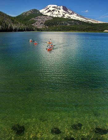 Wanderlust Tours - Things to do in Bend and Sunriver Oregon | Cascade Lakes Kayak Tour
