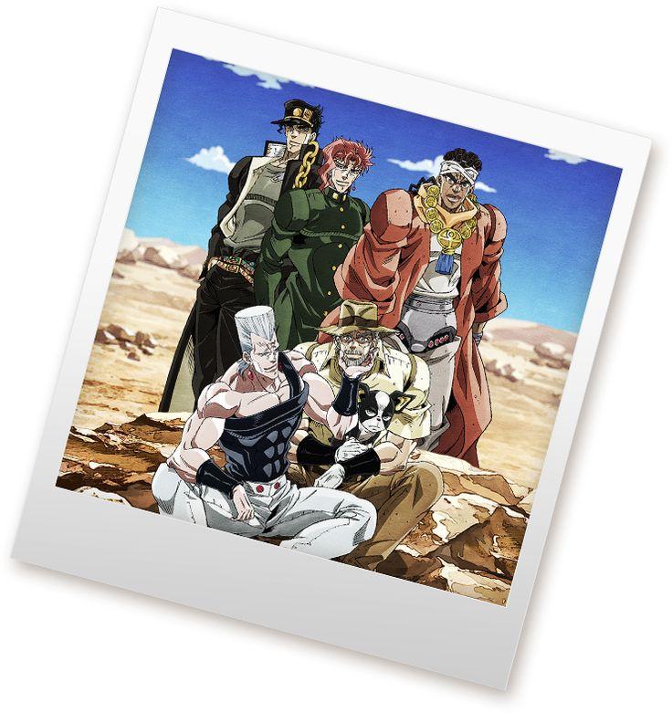 TVアニメ『ジョジョの奇妙な冒険 スターダストクルセイダース』公式サイト