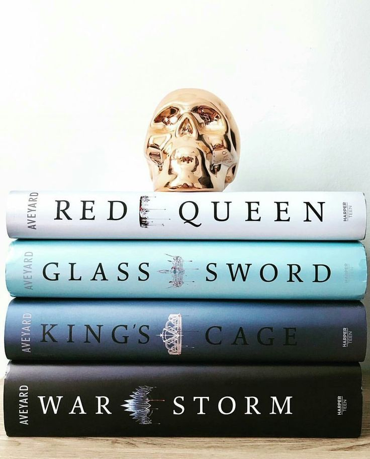 Red Queen Glass Sword Kings Cage and War Storm books