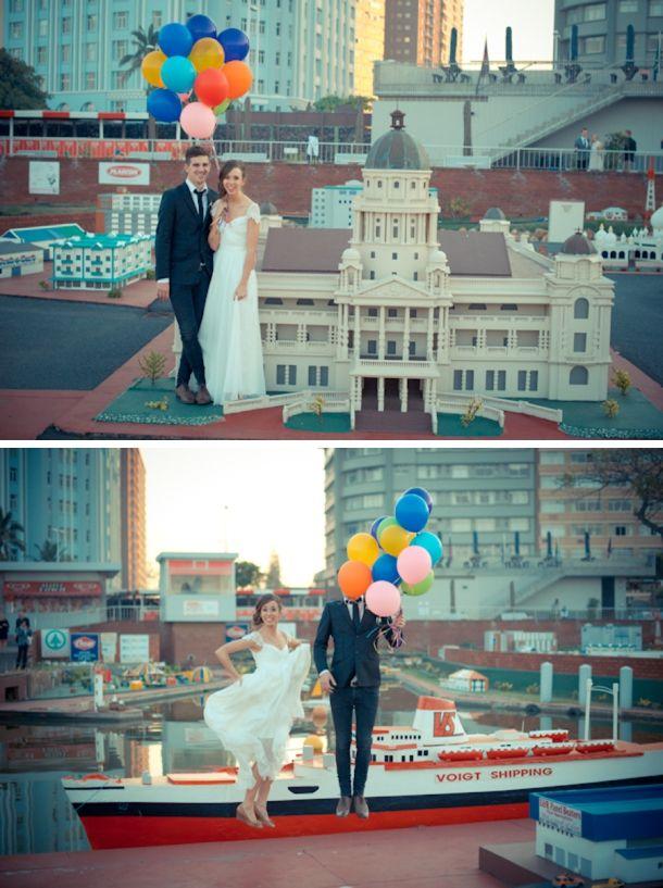 mini town Durban North Beach  031-337 7892   Lad & Lass #wedding