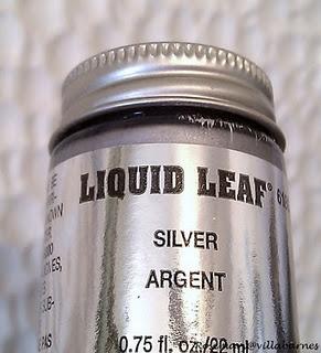 Liquid Silver Leaf Paint Painting Pinterest The