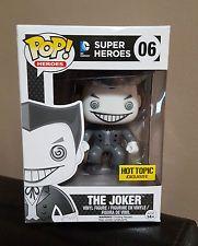 Funko Pop - The Joker (Black & White) - Hot Topic Mystery Pop