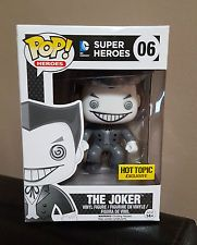 Funko Pop - The Joker (Black & White) - Hot Topic Mystery Pop