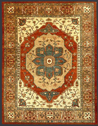 Pakistani Heriz Oriental Rug Tappeti, Persiane