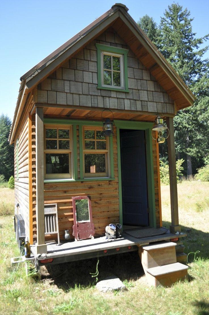 Mejores 72 im genes de porches casas fachadas en - Casitas pequenas de madera ...