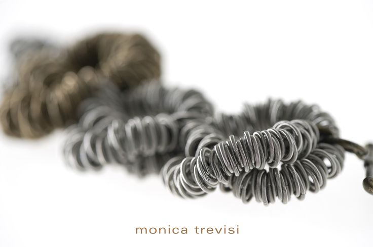 Twists, circles and waves...details from Monica Trevisi Jewelry collection - design jewelry, handmade in italy, italian design