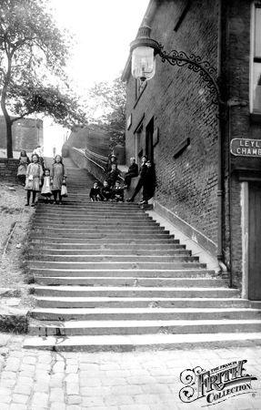 Church Steps 1913, Rochdale