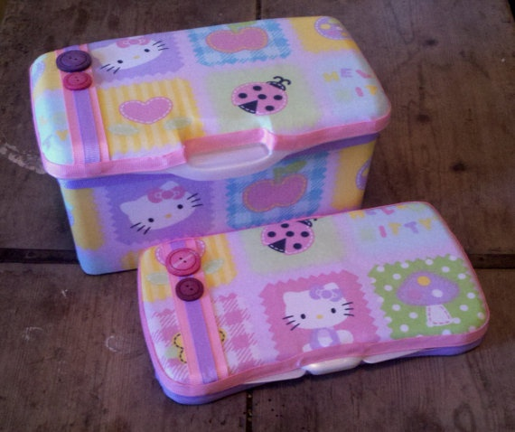 hello kitty baby wipe case set baby kid things hello kitty baby hello kitty baby. Black Bedroom Furniture Sets. Home Design Ideas