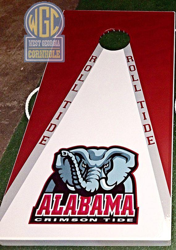 Officially Licensed University of Alabama Cornhole by WGCornhole, $215.00