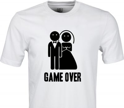 Tricou burlac Game Over